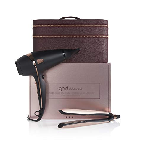 ghd Platinum+ straighteners & Air Hair Dryer deluxe limited edition gift set