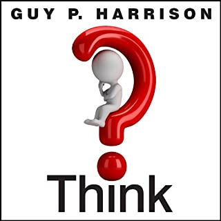 Think audiobook cover art