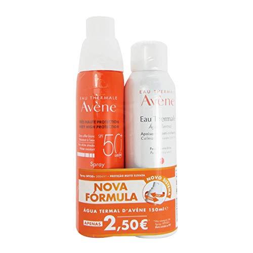 Avène Solar Spray SPF 50+ con Oferta Agua Termal 200ml + 150ml