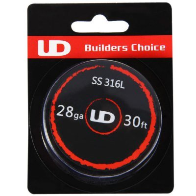UD Youde Wire/ /Acero inoxidable 316L/ /10/M /24/AWG//0,50/mm/