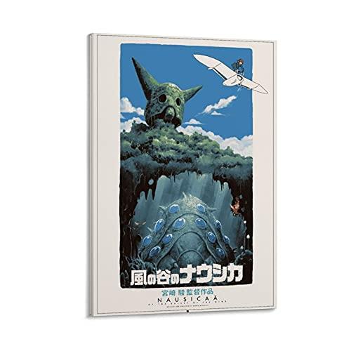 KKMM - Poster decorativo da parete con anime giapponesi, motivo: Nausicaa della valle del vento, 20 x 30 cm