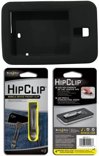 Rockadex - Silicone Case for Tandem Diabetes Pump, Custom-Designed Tslim Insulin Pump Case with Clip, Diabetic Supplies, Black