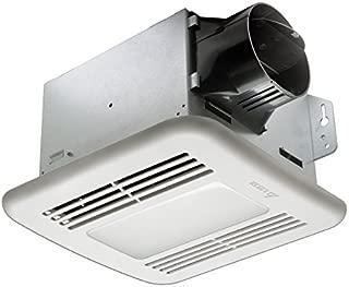 Delta Electronics (Americas) Ltd. GBR100LED Delta BreezGreenBuilder Series 100 CFM Fan/Dimmable LED Light, 13.6W, 1.5 Sones,