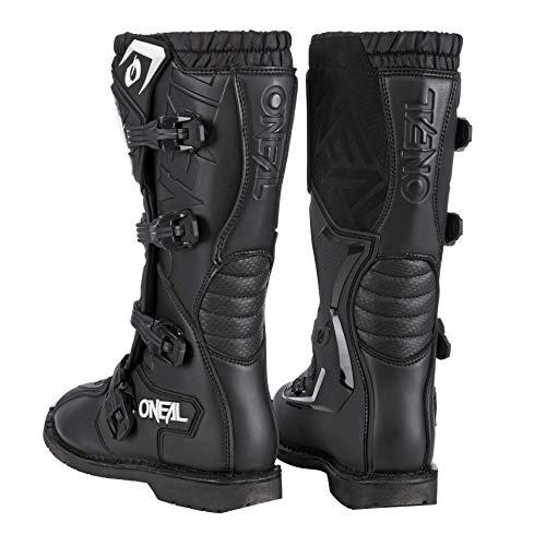 O'Neal Rider Boot MX Stiefel Schwarz Moto Cross Motorrad Enduro Boots, 0329-1, Größe 43 - 5