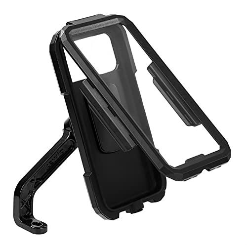 PPKZY Soporte de teléfono de Bicicleta de Motocicleta Ajustable Impermeable Teléfono Soporte Soporte Manillar de Bicicleta/Espejo retrovisor Montaje de Soporte móvil (Color : Rearview Mirror)