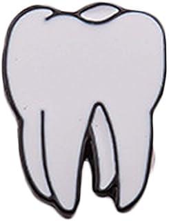 Spilla a forma di organo, cervello, cuore, dente, occhio