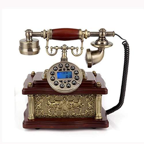 Lszdp- & zio Vintage Style Drehrad Land-Line Telefon mit traditionellem Klingelring und...