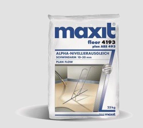 maxit floor 4193 (ehem. 4190) - Calciumsulfat-Dünnestrich, 25kg