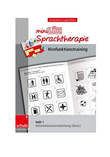 Schubi-LÜK-Sprachtherapie Erwachsene: miniLÜK-Sprachtherapie - Hirnfunktionstraining: Heft 1 Informationsverarbeitung Basis