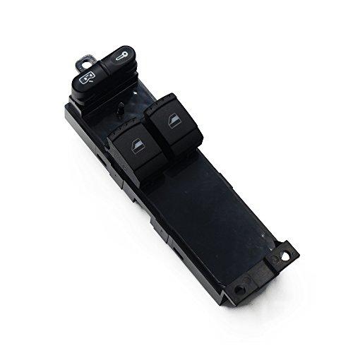 ZhiDuoXing Interruptor de Ventana eléctrico/Apto para -Skoda Fabia Octavia VW Bora Golf Seat Leon / 1J3 959857 B 1J3959857