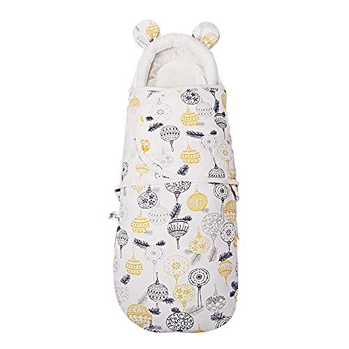 Drizzle Mantas Swaddle para Bebés Protegen el Cuello del Bebé Saco de Dormir para Bebés Cremallera Pañales fáciles de Cambiar Para Bebés Recién Nacidos 0-6 Meses 35 * 75cm Edredón para Bebés