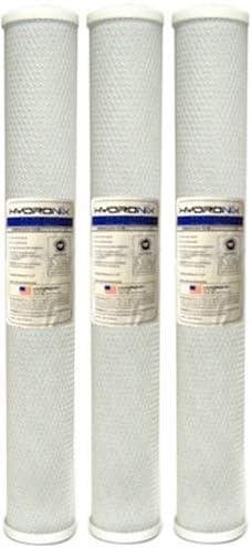 Hydronix CB-25-2010 NSF Popular brand Carbon Tampa Mall Block Filter Length X 20