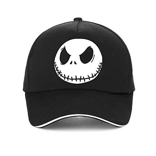Fnito Gorra de béisbol Pesadilla Antes de Navidad Hombres Gorra de béisbol Grimace Summer Hip Hop Snapback Hat