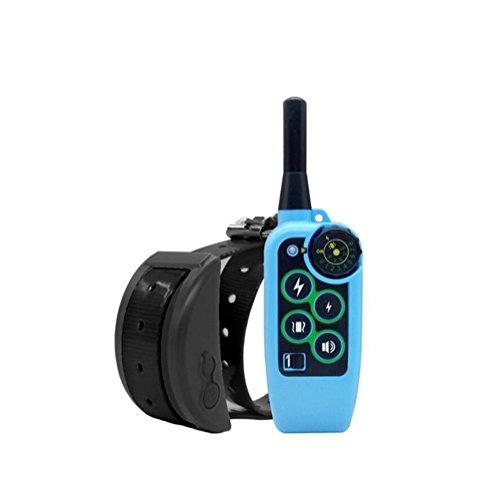 Cutepet Hunde Vibrations-Erziehungshalsband Funktrainer Anti Bell- Erziehungshalsband Wiederaufladbar Und Wasserdicht XG-8360