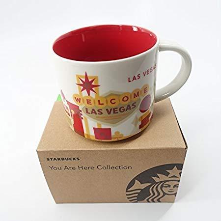 Starbucks Tasse Motiv Las Vegas, You Are Here-Kollektion 2013