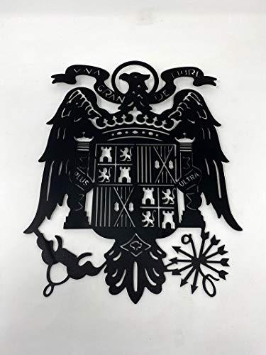 Silueta Aguila de San Juan de forja.