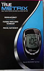 TrueMetrix Self Monitoring Blood Glucose Meter (Triple Sense Technology)