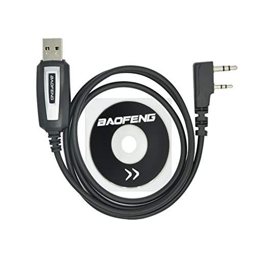 Morza Programmazione USB di Ricambio Cavo per Baofeng UV-5R Driver CD del Software UV-82 BF-888s Accessori