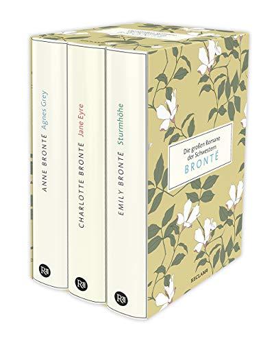 Die großen Romane der Schwestern Brontë: Drei Bände im Schuber: Anne Brontë: Agnes Grey | Charlotte Brontë: Jane Eyre | Emily Brontë: Sturmhöhe
