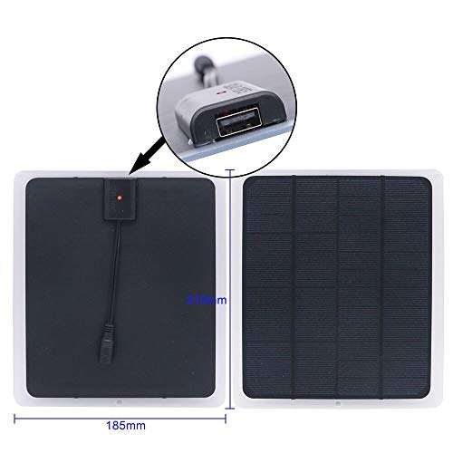 NUZAMAS solar-fan-squar-10w