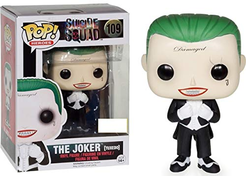 Funko Pop! Suicide Squad #109 The Joker (tuxedo) Exclusive by FunKo