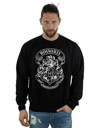 Harry Potter Herren Hogwarts Crest Sweatshirt XXX-Large Schwarz