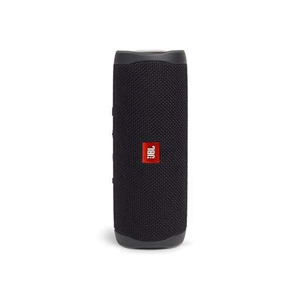 jbl flip 5 waterproof portable wireless bluetooth speaker bundle with hardshell protective case – black