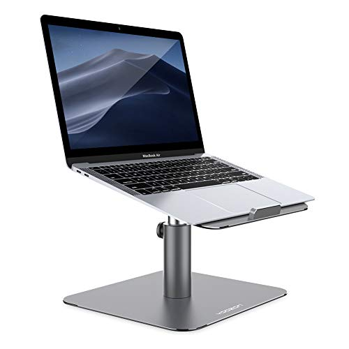 Yoozon Laptop Ständer, Aluminium Laptop Stand Höhenverstellbarer Laptopständer,MacBook ständer,Kompatibel mit MacBook Pro Air, Lenovo, HP, Samsung,Dell,Surface, 9-16 Zoll Notebook Ständer