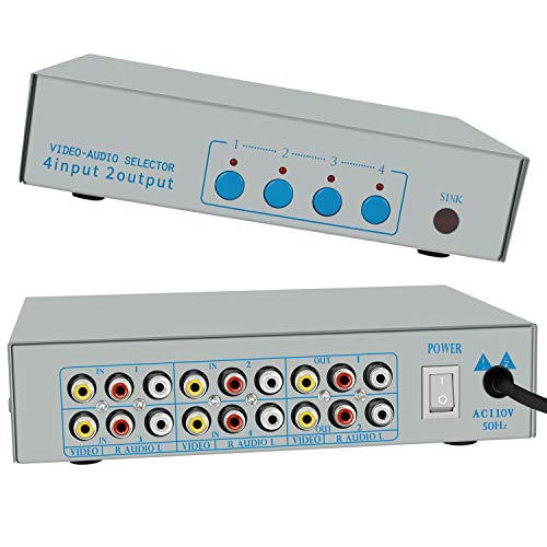 HONONJO AV SWITCHER 4 Way Converter…