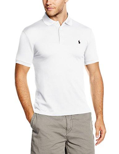 Polo Ralph Lauren Herren SS KC SLFIT MDL 1 Poloshirt, Weiß (WHITE A1000), Medium