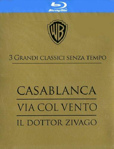 3 grandi classici senza tempo: Casablanca + Via col vento + Il dottor Zivago