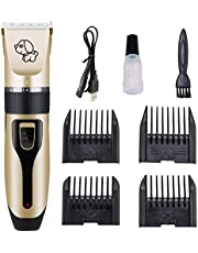 Electric Grooming Kit Animal Pet Cat Dog Hair Cut Trimmer Clipper Shaver Set