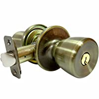Deals on Truguard Entry Lockset Medium Tulip-Style Knob