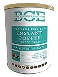 Bulk Gourmet Emporium - Café soluble arábica liofilizado que cumple los estándares éticos de la RainForest Alliance, bote de cierre hermético, 750 g (para 417 tazas aprox.)