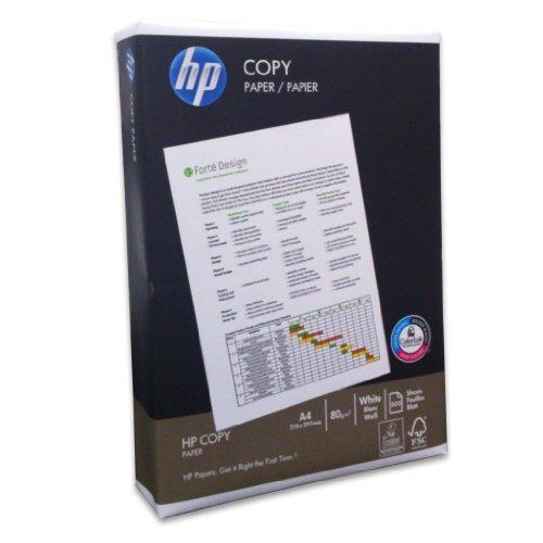 HP 5 x Kopierpapier Copy CHP910 A4 80g/qm weiß VE=500 Blatt