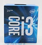 i3 7 Series Processor I3 7100 I3-7100 Boxed Processor CPU LGA 1151-land FC-LGA 14 nanometers Dual-Core