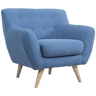 Modern Mid Century Loveseat/Chair