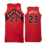 2021 New Season Toronto Raptors Whole Team Red Basketball Trikots Kyle Lowry 7#VanVleet 23# Pascal Siakam 43# Basketball-Shirt, neuestes Training, schnell trocknende Tops Gr. S, Vanvleet23#