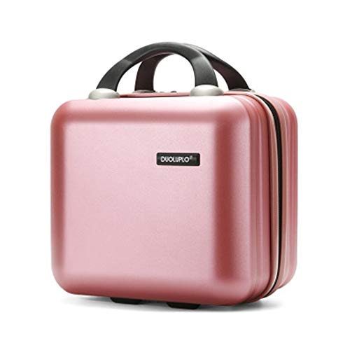 Luggage Trolley Box Universal Wheel Board Case Student Suitcase 12/14 Inch Child And Mother Box Men And Women Makeup Box For travel and business trips (Color : C4, Size : 14inch)