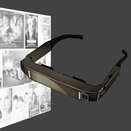 EUNN AS6 VISION-800 Android 4.4 1 GB + 2 GB Super Smart Retina Brille 3D VR Virtual Reality Headsets mit 5.0MP Kamera, Unterstützung von WiFi, Bluetooth, TF-Karte, Videoaufzeichnung