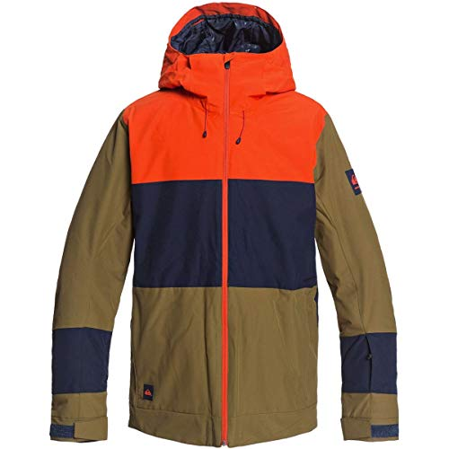 Quiksilver Snow Sycamore Jacket Military Olive MD
