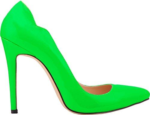 Salabobo Zapatos de tacón de poliuretano para mujer, estilo sexy, para novia,...