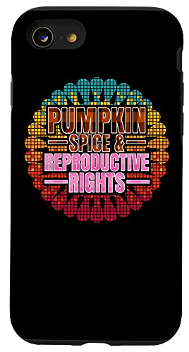 iPhone SE (2020) / 7 / 8 Pumpkin Spice Reproductive Rights Pro Choice Feminist Rights Case