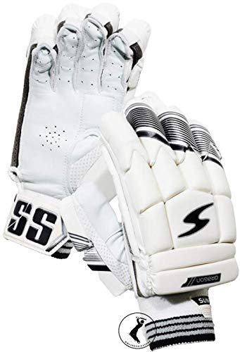 Skyhi SS Cricket-Schlaghandschuhe für Herren, Jugendliche, Jungen, rechte und linke Hand, Schlaghandschuhe (Farbe kann variieren) (Drache, linke Hand)