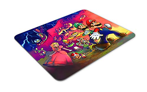 JNKPOAI Cute Super Mario Print Mouse Pad Personalized Design of Office Game Mouse Pad Cartoon Mouse Pad with Clear Design (Super Mario#1) Photo #3