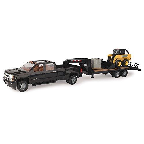 TOMY John Deere Big Farm Chevy Construction Vehicle Set