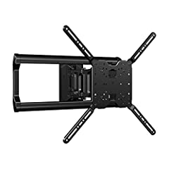 "Fits 37""-80"" TVs & easily hold up to 125lbs, keeping your TV safe on the wall. Features 18"" of effortless extension that retracts back to a low 2.97"" profile for ultimate maneuverability. With 120º of smooth swivel, and 15º of tilt, you can face the ..."