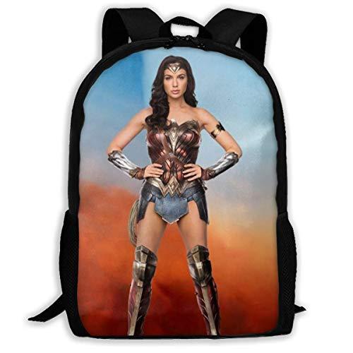 shenguang Pretty Wonder Woman Adult Travel Backpack Fits 15.6 Inch Laptop Backpacks School College Bag Casual Rucksack for Men & Women