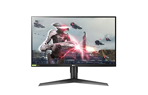 LG Ultragear 27GL63T 27 Inch Gaming Monitor FHD IPS 1MS HDR Nvidia G-Sync Compatible, Black