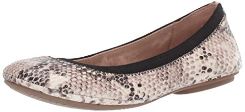Bandolino womens Edition flats shoes, Natural Boa, 7.5 US